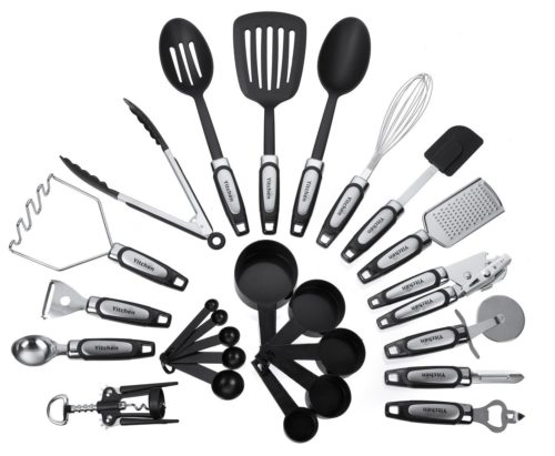 25-Piece Kitchen Tool & Utensil Set