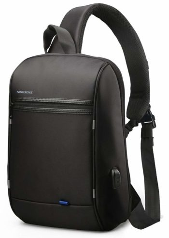 Anti Theft Single Shoulder 13-Inch Laptop Backpack Waterproof Coss-body Sling Bag