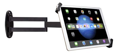 Articulating Security Wall Mount for 7-13 Inch Tablets and 12.9-inch iPad Pro by CTA Digital