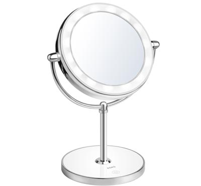 Double Sided Lighted Makeup Mirror by KDKD