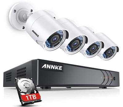3. ANNKE Full HD Surveillance Camera System