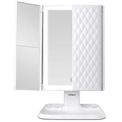 Portable High Definition Cosmetic Lighted Up Mirror by AirExpect