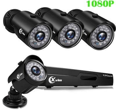 Waterproof Surveillance Cameras Night Vision by X-VIM