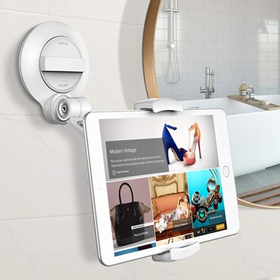 Matone Tablet Holder with Strongest Large Suction Cup
