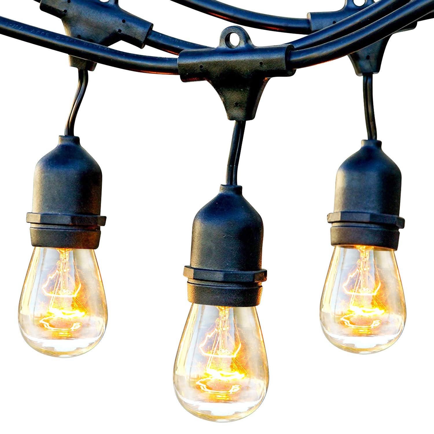 Brightech Ambience Pro Hanging Vintage String Lights