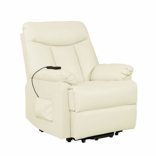 Domesis Renu Leather Lift Chair Recliner