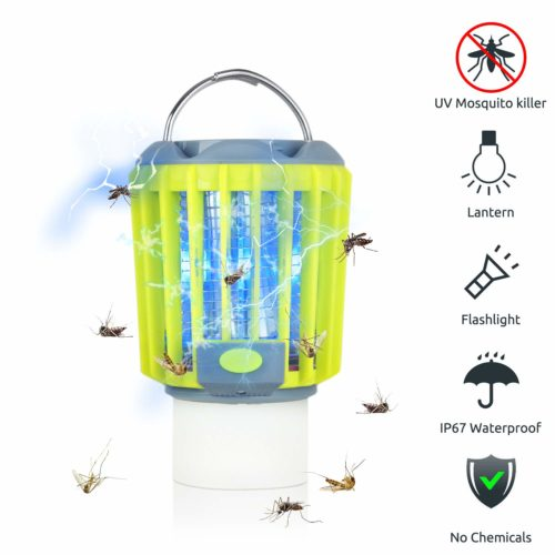 ERAVSOW Bug Zapper & LED Camping Lantern & Flashlight 3-in-1
