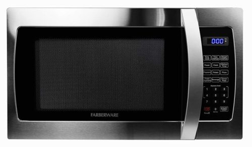 Farberware Professional FMO13AHTBKE 1.3 Cu. Ft. 1000-Watt, Microwave Oven with LED Lighting