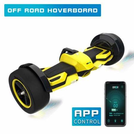 "Fitnessclub G-F1 Off-Road Hoverboard, UL2272 Certified 8.5"" Self Balancing Scooter with Bluetooth Speaker LED Lights for Kids and Adult"