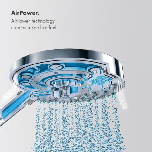 Hansgrohe 12-Inch AIR Showerhead