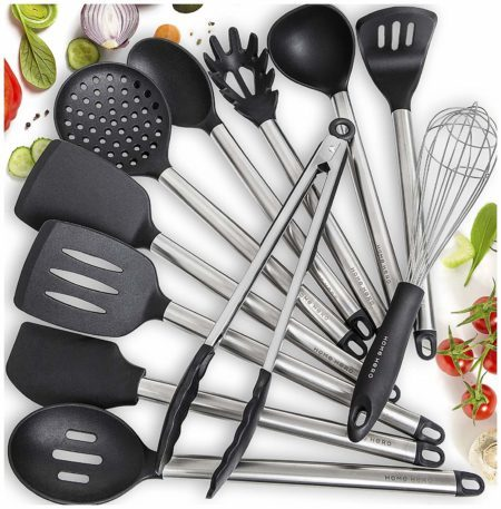 Home Hero 11 Silicone Cooking Utensils