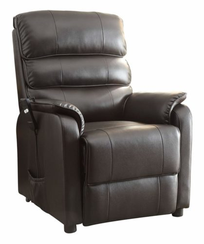 Homelegance Kellen Power Lift Bonded Leather Recliner