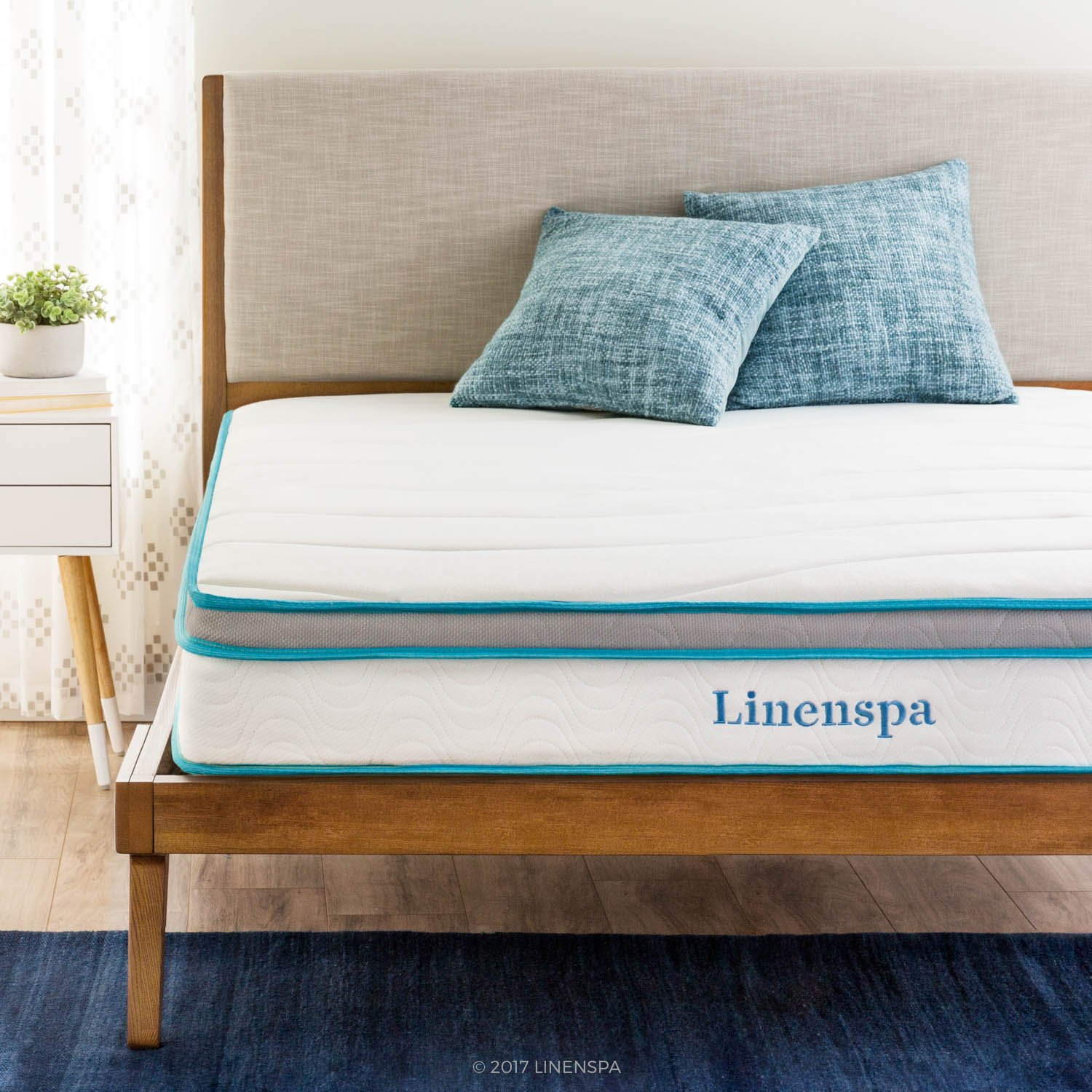 Linenspa Memory Foam Mattress With Hybrid Innerspring