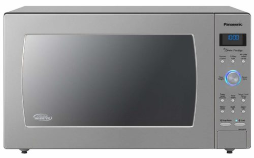 Panasonic Countertop / Built-In Microwave Oven with Cyclonic Wave Inverter Technology and 1250W of Cooking Power - NN-SD975S - 2.2 cu. ft