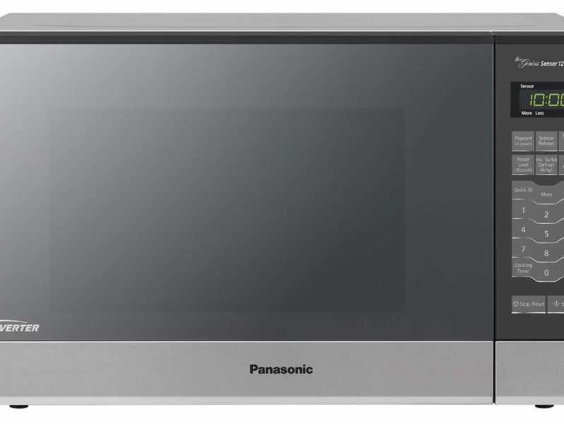 Panasonic Microwave Oven NN-SN686S Stainless Steel Countertop/Built-In