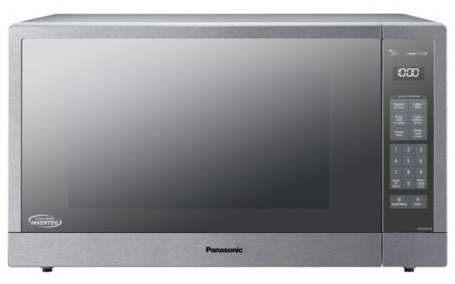 Panasonic Microwave Oven, Stainless Steel Countertop/Built-In Cyclonic Wave with Inverter Technology and Genius Sensor