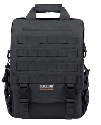 "Seibertron Waterproof Molle Tactical 15.6""-Laptop Sling Bags"