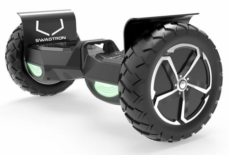 Swagtron Swagboard Outlaw T6 Off-Road Hoverboard - First in The World to Handle Over 380 LBS-Off Road Hoverboards