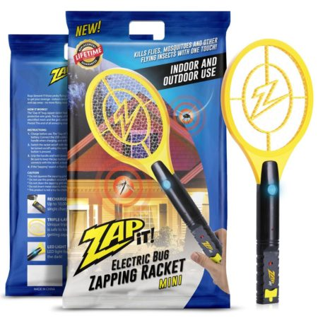 ZAP IT! Mini Bug Zapper - Rechargeable Mosquito