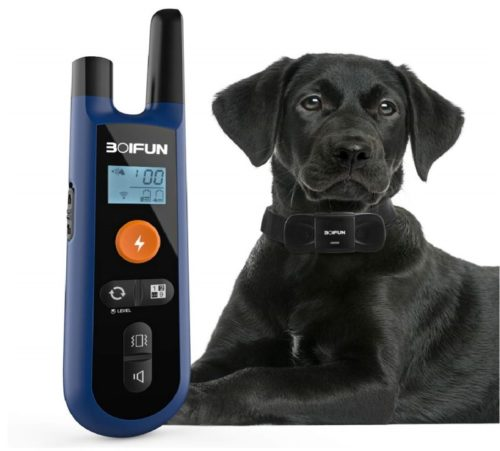 15.Advanced Dog Training Collar W Remote for Small Medium Large Dogs, 3 Training Mode, Beep, Vibration and Shock, Waterproof Rechargeable Dog Training Set
