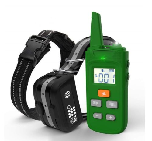 5.TBI Pro [All-New 2021 Dog Shock Training Collar with Remote Heavy-Duty, Long Range 2000 ft, Rechargeable & IPX7 Waterproof E-Collar Shock Collar for..