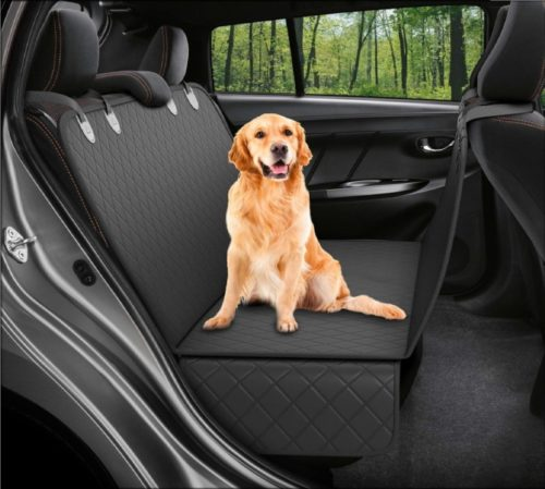 7.Dog Back Seat Cover Protector Waterproof Scratchproof Nonslip Hammock for Dogs Backseat Protection Against Dirt and Pet Fur Durable Pets Seat Covers for..