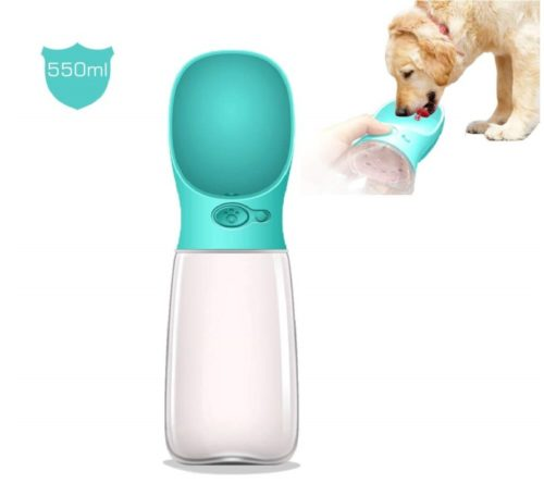9.[Upgraded Bigger Capacity] MalsiPree Dog Water Bottle, Leak Proof Portable Puppy Water Dispenser with Drinking Feeder for Pets Outdoor Walking, Hiking,