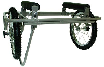 8. All-Terrain Canoe Dolly Carrier Cart by Seattle Sports