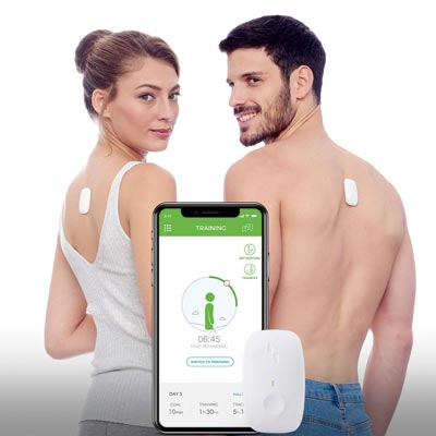 3. Posture Trainer and Corrector for Back by Upright Go