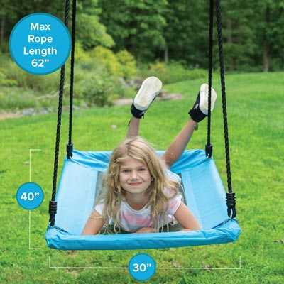 8. Outdoor Tree Swing for Kids & Adults by Play Platoon