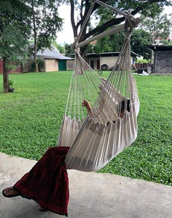 4. Large Brazilian Hammock Chair by Hammock Chair