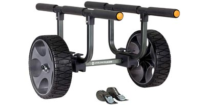 7. Heavy Duty Kayak Cart with Flat Free Wheels by Wilderness Systems
