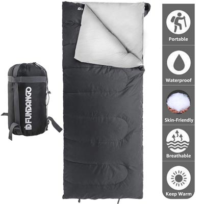 Top 10 Best Waterproof Sleeping Bags for Camping Buying