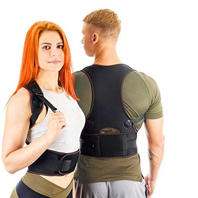 5. Posture Corrector Back Brace for Woman and Men by VOSMAE