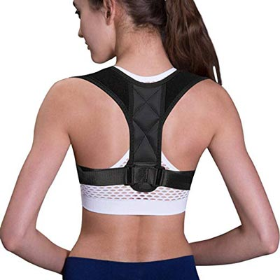 4. Posture Corrector Spinal Support and Neck Pain Relief by Tiharny
