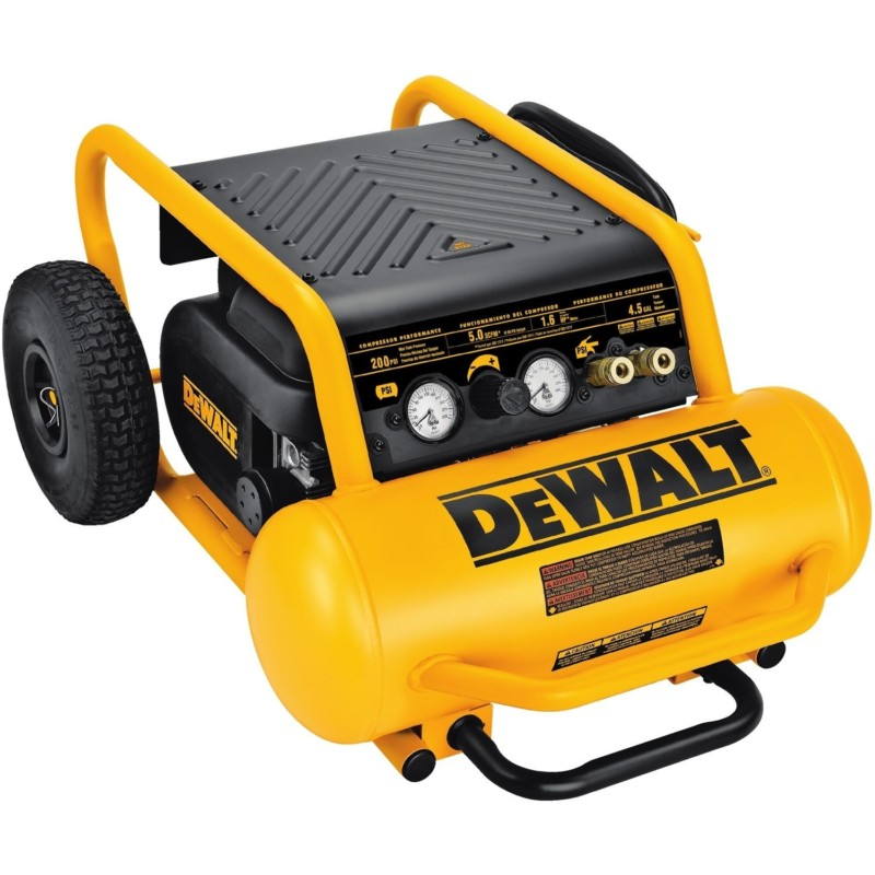 DEW ALT D55146 Compressor with Wheels