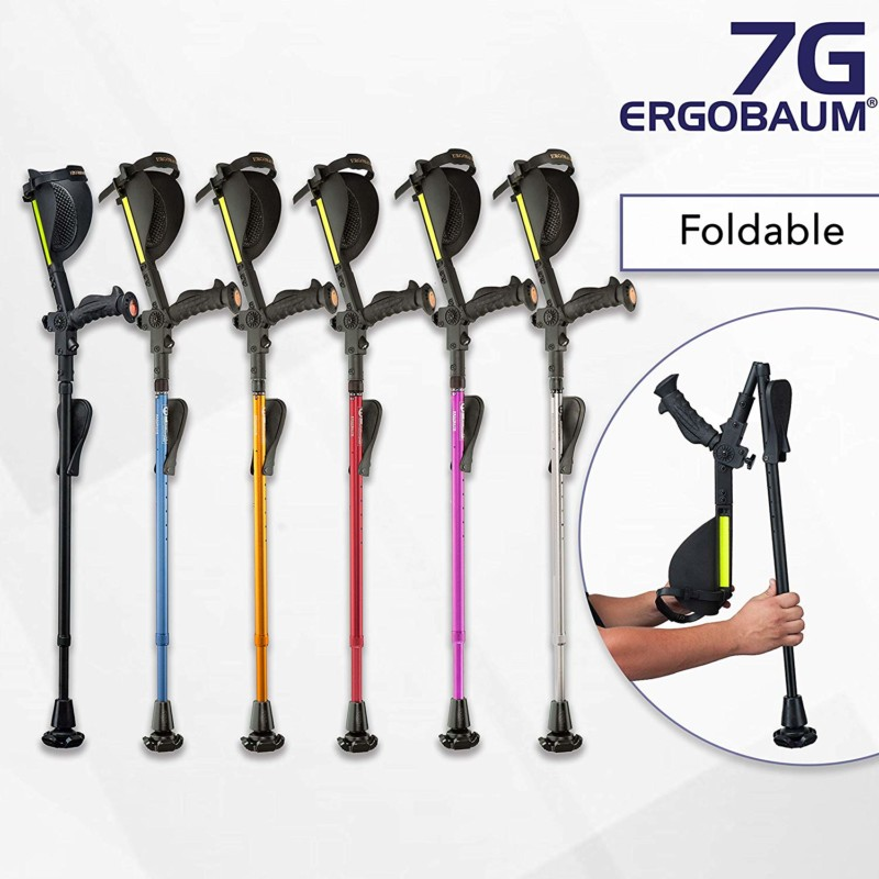 Ergobaum¨ Prime 7TH Generation Forearm Crutches