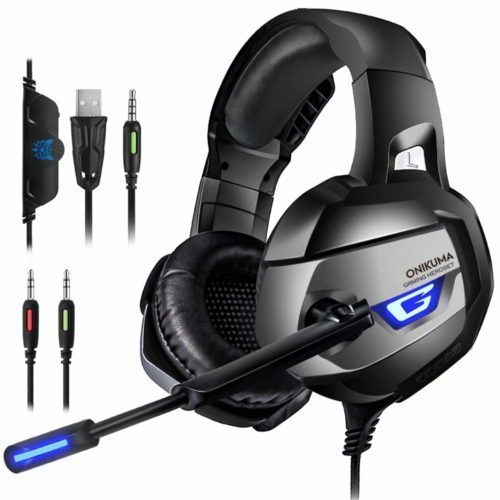 ONIKUMA Gaming Headset for PS4,