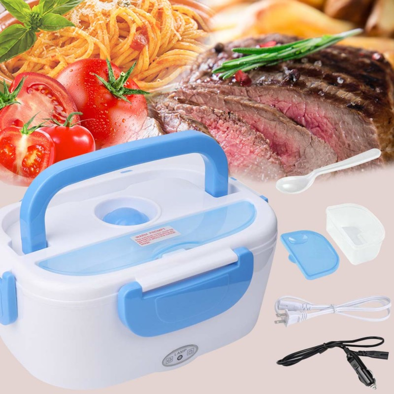 Toursion Home & Car Dual Steel Container Electric Meal Box