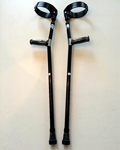 Walking Lightweight Adjustable Forearm Crutches