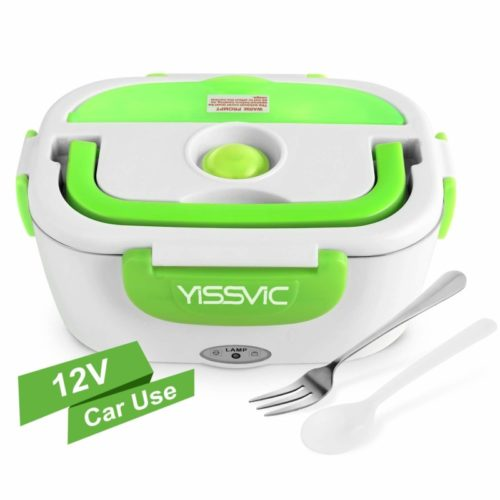 YISSVIC Electric Car Charge Heated Portable Lunch Box