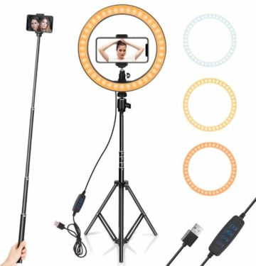 AIXPI Ring Light with Stands