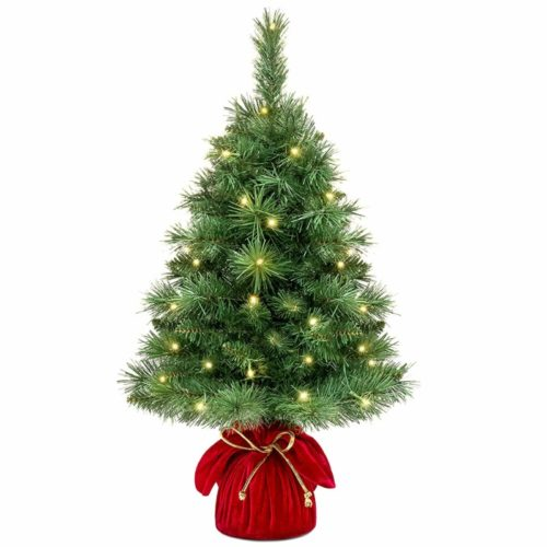 Best Choice Products Fir Pre-Lit Christmas Tree