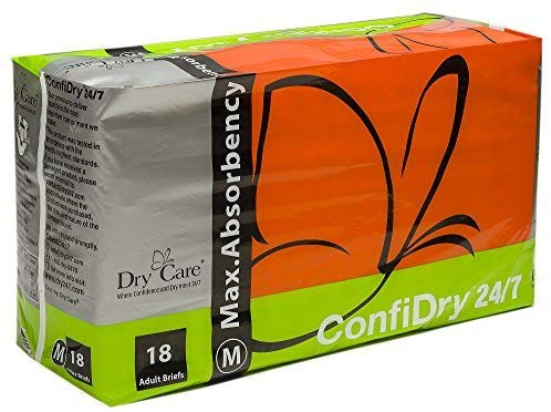 ConfiDry 24/7 Dry Care Adult Brief Diapers