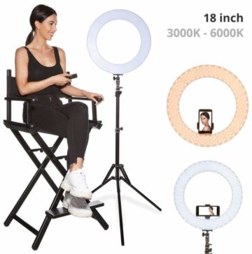 INKELTECH Ring Light with Stands