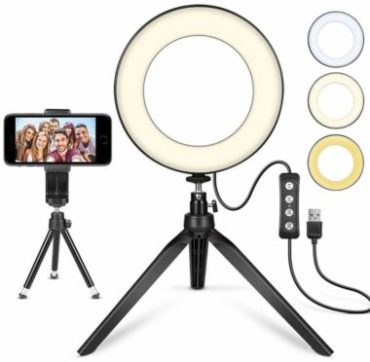 MACTREM Ring Light with Stands