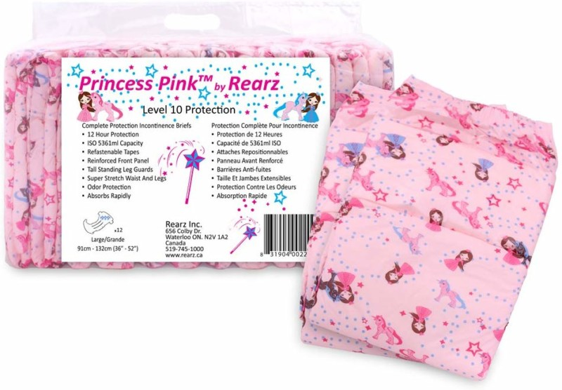 Rearz - Princess Pink - Adult Diaper