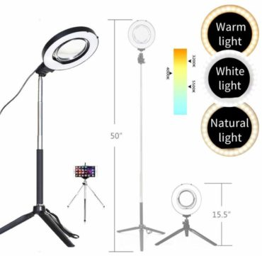TRUMAGINE Ring Light with Stands