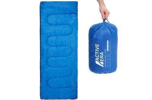 Premium Lightweight Single Sleeping Bag – Warm and Water Resistant