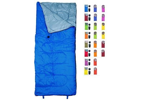 REVALCAMP Sleeping Bag Indoor & Outdoor Use. Great for Kids, Boys, Girls, Teens & Adults